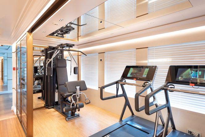 gym equipment © Credits Kerem Sanliman