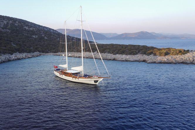 Luxury gulet BABYLON for charter in Turkey