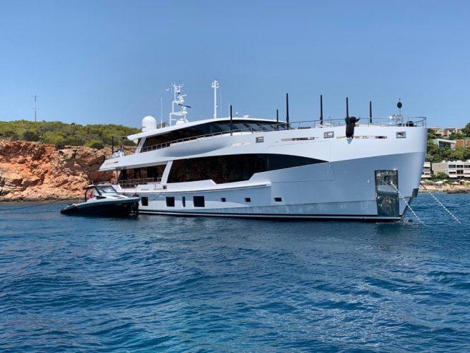 luxury yacht Fifty-Five © Credits Kerem Sanliman