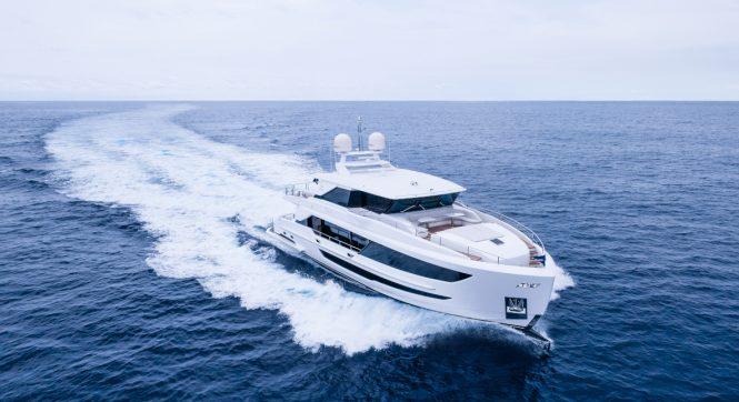 motor yacht TYEE