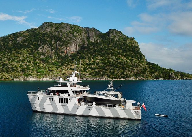 Luxury superyacht THE BEAST available in the South Pacific