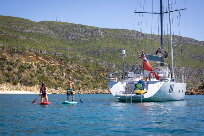 Vacation with sailing yacht HELO