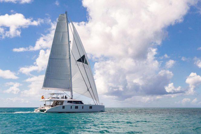 luxury yacht CALMAO