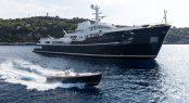Charter explorer yacht Legend in Antarctica this winter